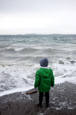 Amongst The Crashing Waves (Discovery Park) | Inspired By Annetta Bosakova