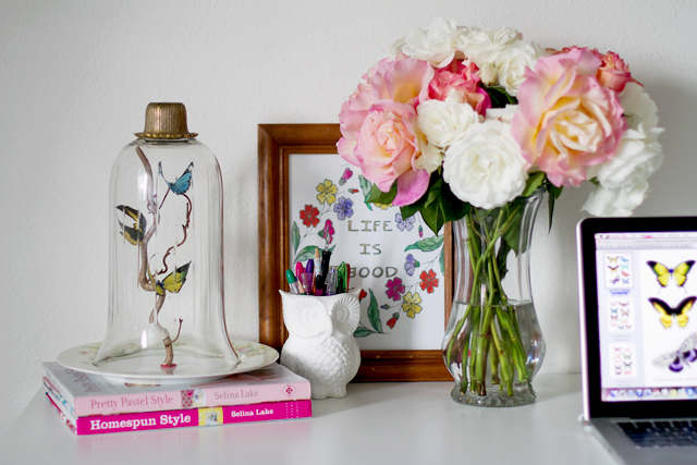 DIY Butterfly Display : Inspired By Annetta Bosakova